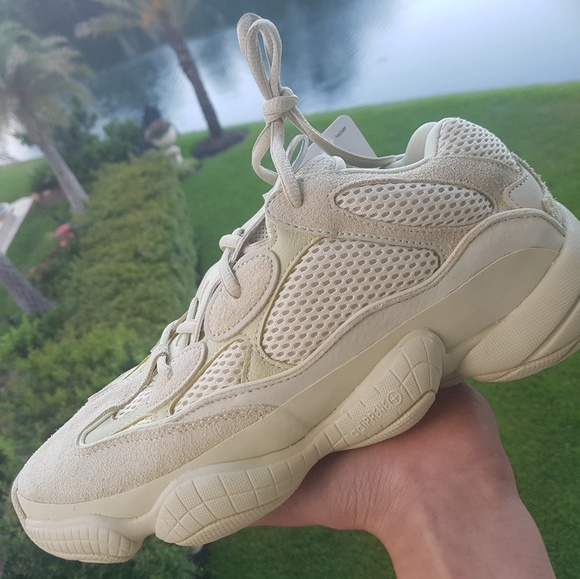 buy online 59a21 fd6b8 Adidas yeezy 500 'super moon yellow' NWT